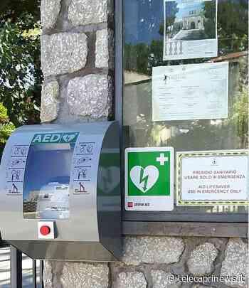 """Capri: progetto comune cardioprotetto, Falco: """"Necessario un monitoraggio di tutti i defibrillatori presenti a Capri, verificarne l'efficienza e sostituire le batterie"""" - Telecaprinews"""