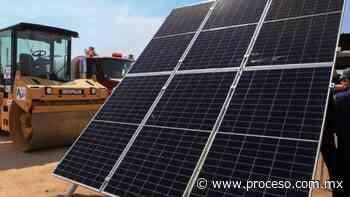 Construyen en Baja California la planta fotovoltaica más grande de Latinoamérica - Proceso