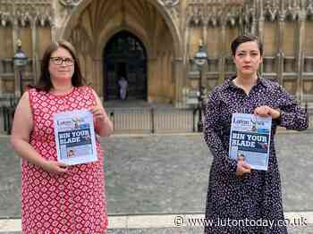 Police, MPs and council give support to Luton News and Dunstable Gazette's Bin Your Blade campaign - Luton Today