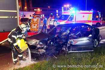 Zwei Verletzte nach Unfall auf dem Flugplatzareal in Lahr - Lahr - Badische Zeitung