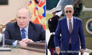 Vladimir Putin has a HIGHER approval rating than Biden among Republicans, new poll reveals