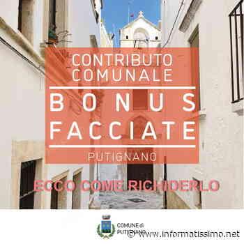 Putignano - Contributo bonus facciate centro storico: ecco come richiederlo - Putignano Informatissimo