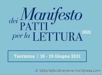 """A TAORMINA NASCE IL """"MANIFESTO DEI PATTI PER LA LETTURA"""" - LetteratitudineNews"""