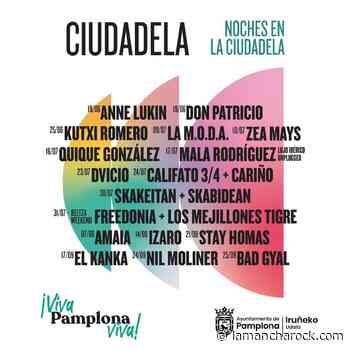 Arranca la programación de las «Noches en la Ciudadela» de Pamplona - La Mancha Rock