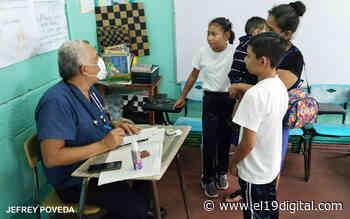 Familias reciben atención de calidad en jornada médica del barrio Ciudadela Nicaragua - El 19 Digital