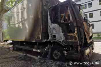Nach Brandnacht im Leipziger Norden: Schon wieder Lastwagen in Flammen - TAG24