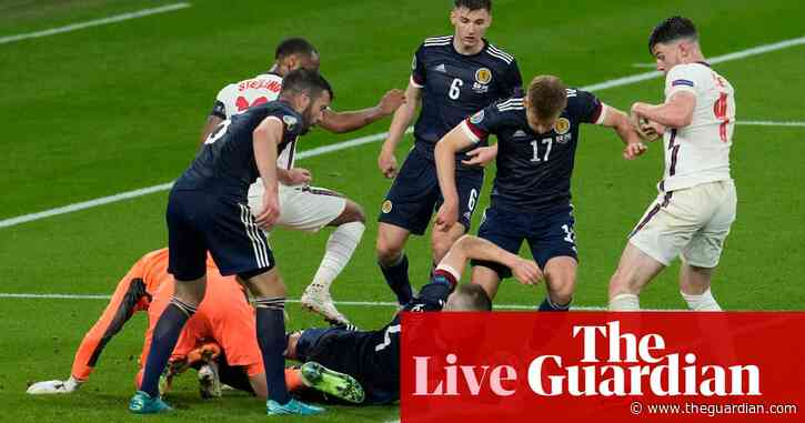 England 0-0 Scotland: Euro 2020 – as it happened