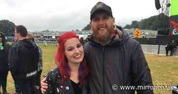 Couple tie knot at Download as first UK camping festival since Covid kicks off