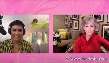 Jane Fonda Gets Emotional Over Demi Lovato's Gender Identity Journey - Advocate.com