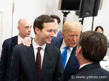 Jared Kushner Beating Father-In-Law Donald Trump to Book Publishing Deal Could Strain Family Relations - Yahoo Entertainment