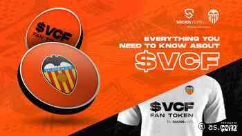 El Valencia anunciará su propia criptomoneda en la camiseta - AS