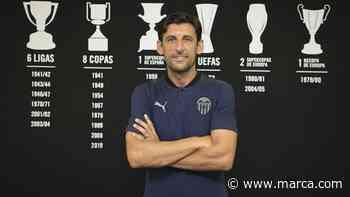 Angulo se hace cargo del filial del Valencia en su momento más crítico - MARCA.com
