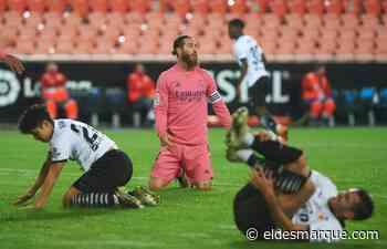 El Real Madrid cuela al Valencia en la despedida de Sergio Ramos - ElDesmarque Valencia
