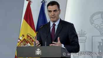 Sánchez se vacunó contra el coronavirus y pidió a los españoles seguir inoculándose - Télam
