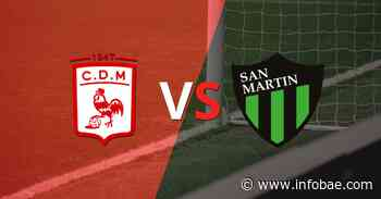 Con un solo tanto, Dep. Morón derrotó a San Martín (SJ) en el estadio Nuevo Francisco Urbano - infobae