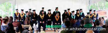 Dawson's school graduates 18 in the open air - Whitehorse Star