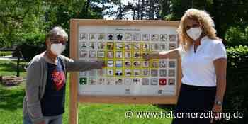 Nordkirchen als Vorreiter: Das steckt hinter den neuen Tafeln im Ort - Halterner Zeitung