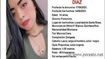 Activan Alerta Ámber por desaparición de menor en localidad de Santa Rosa, Quintana Roo - PorEsto