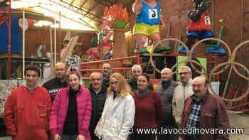 L'arte del Carnevale? A Oleggio si impara con i maestri di cartapesta di Viareggio - La Voce Novara e Laghi - La Voce di Novara