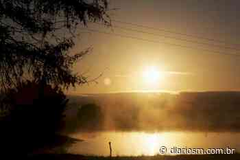 Santa Maria tem o amanhecer mais gelado do ano até agora - Diário de Santa Maria
