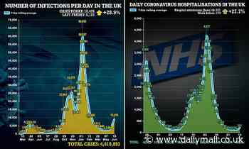 Bleak projections for Covid-19 deaths in third wave will be HALVED
