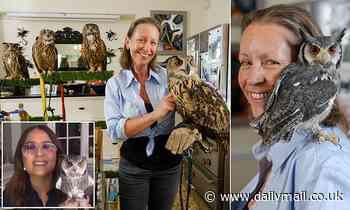 Pet owls? They're a hoot! FRIEDA HUGHES says she's got 14