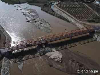 Reconstrucción con Cambios: Lambayeque pone en marcha el puente Reque - Agencia Andina