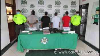 """Desarticularon a """"Los Junior"""", dedicados a vender droga en Arauca (Palestina) - BC Noticias"""
