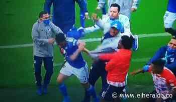 Lo sancionados por la pelea entre Millonarios y Junior - EL HERALDO