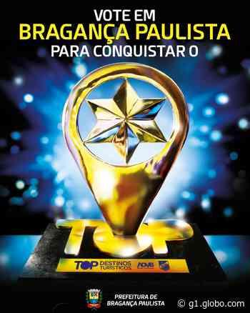 Bragança Paulista concorre ao prêmio Top Destinos Turísticos 2021 - G1