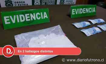 OS7 Valdivia decomisó más de 1/2 kilo de drogas durante las últimas horas en Los Ríos - Diario Futrono