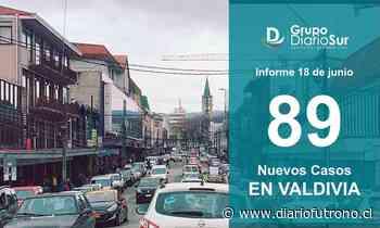 Valdivia confirmó este viernes 89 contagios y 3 nuevos fallecidos - Diario Futrono