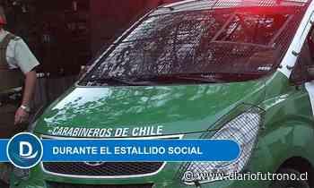 Dictan medidas cautelares contra carabineros acusados de violar derechos humanos en Valdivia - Diario Futrono