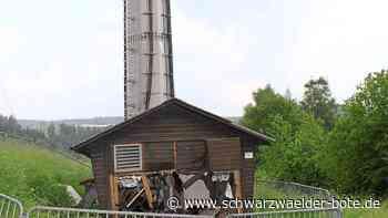 Altensteig - Sendeturm auf dem Schlossberg fällt bis Ende Juni aus - Schwarzwälder Bote