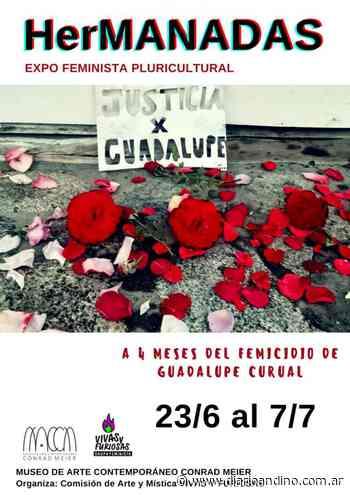 Expo feminista pluricultural al cumplirse 4 meses del femicidio de Guadalupe - Diario Andino