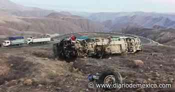 Cae autobús a barranco en los Andes, mueren 17 personas - Diario de México