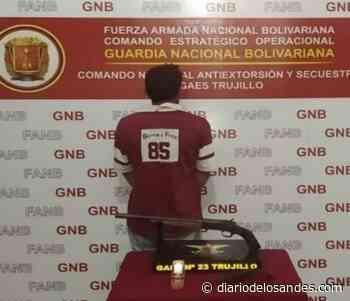 GNB le echa el guante a extorsionador - Diario de Los Andes