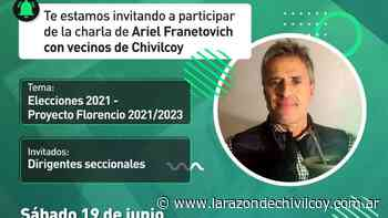 Ariel Franetovich en una Charla y mateada virtual - La Razon de Chivilcoy