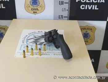 Polícia Civil apreende adolescente suspeito de praticar homicídios em Feira de Santana - Acorda Cidade