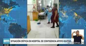 Trabajadores del hospital de Iquitos denuncian que el centro se encuentra malas condiciones - Diario Trome
