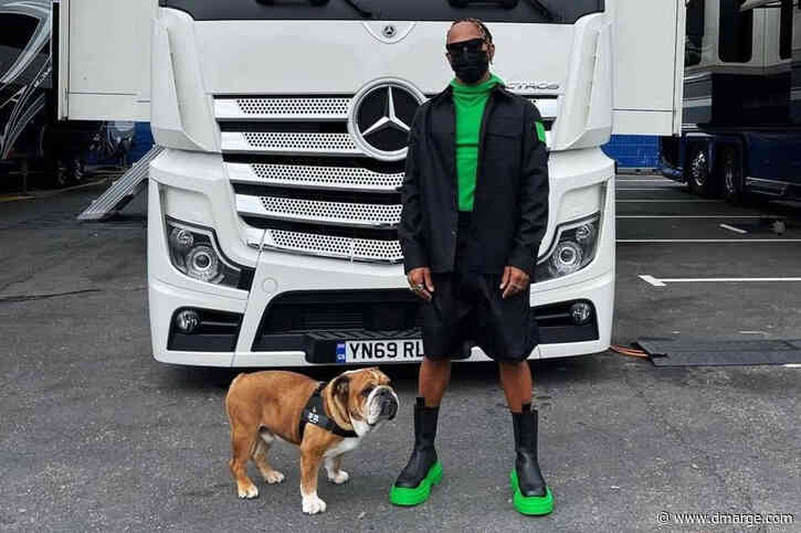 Lewis Hamilton Swaps Tyres For Tires With Outlandish Offroad Outfit In France