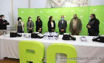 El Banco Patagonia dona equipos para reforzar atención contra el Covid 19 - NoticiasNet