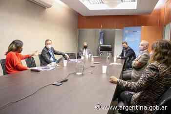 El Ministerio de Seguridad de la Nación y el Banco Central de la República Argentina coordinarán acciones para prevenir estafas y fraudes bancarios - Argentina.gob.ar Presidencia de la Nación