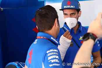 Rins: me lesioné por una distracción con el teléfono móvil - Motorsport.com Latinoamérica