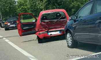 Doppio incidente a Nerviano - La Prealpina