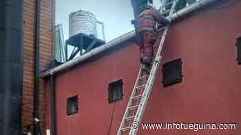 Principio de incendio en Hotel céntrico de Ushuaia - Infofueguina