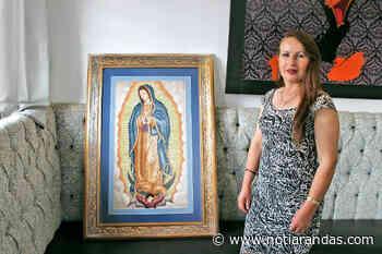 Realiza arandense espectacular reproducción de la Virgen de Guadalupe en punto de cruz - NotiArandas