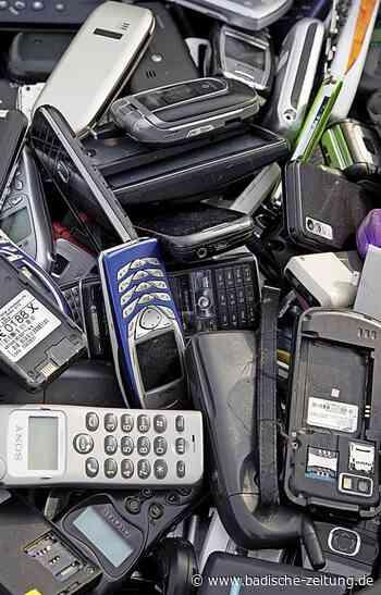 Handys für den guten Zweck - Wehr - Badische Zeitung