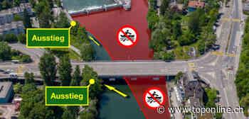 Gegen Boots-Unfälle: Neue Sperrzone vor dem Höngger Wehr - TOP ONLINE