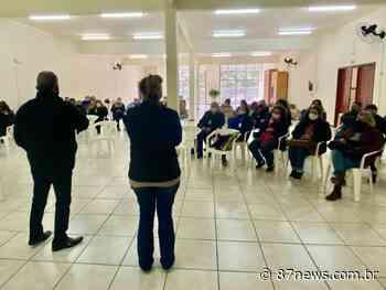 Agentes comunitárias de saúde de Cocal do Sul recebem qualificação - http://www.87news.com.br/